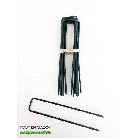 Hook- Agrafes inoxydable verte spéciale gazon synthétique